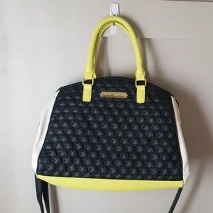 Betsey Johnson crossbody tote bag purse
